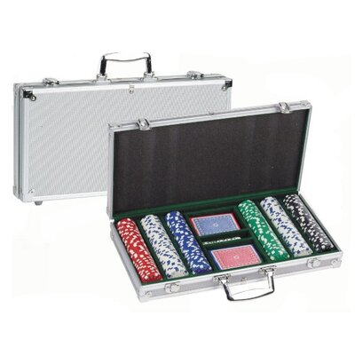 CHH 300 Piece 11.5g Poker Set with Aluminum Case