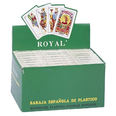 CHH Spanish Plastic Playing Cards (Set of 24)