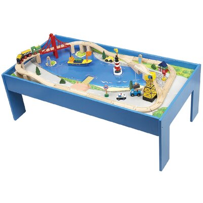 CHH 60 Piece Train Set with Table