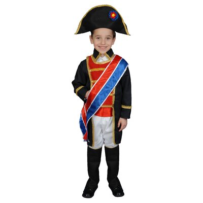 Dress Up America Napoleon Children's Costume Set