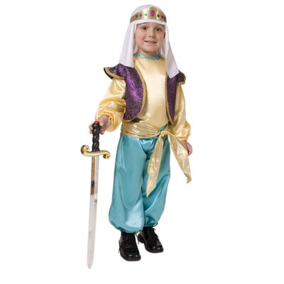 Dress Up America Arabian Sultan Children's Costume