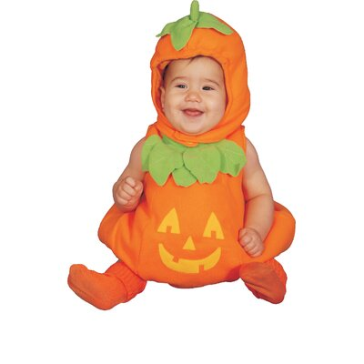 Baby Pumpkin Costume Set