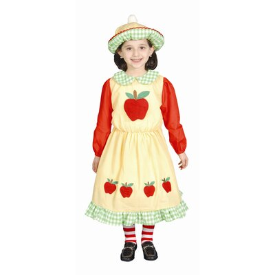 Dress Up America Deluxe Apple Dress Children's Costume