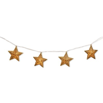 National Tree Co. Pre-Lit Star Garland