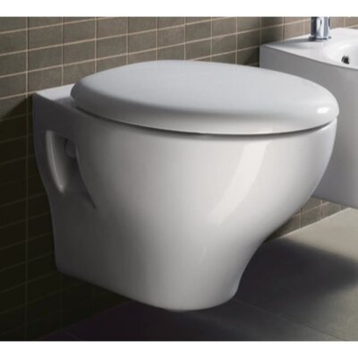 GSI Collection City Contemporary Ceramic Round Toilet Bowl Only