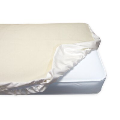 Naturepedic Waterproof Fitted Crib Pad
