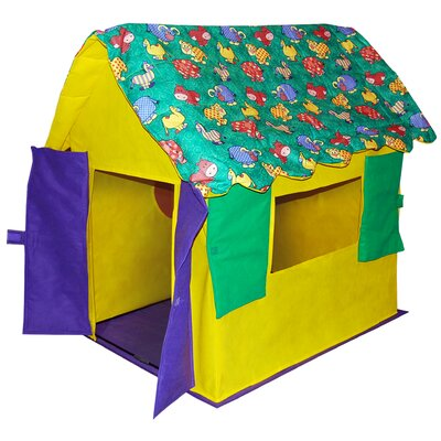 Bazoongi Kids Stuffed Animal Cottage Play Tent