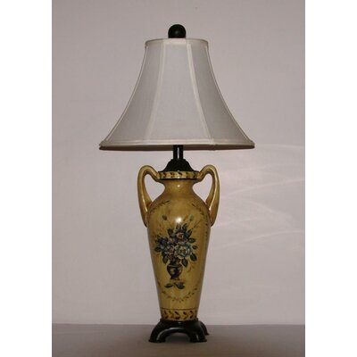 Lamp Factory Floral Medallion Table Lamp