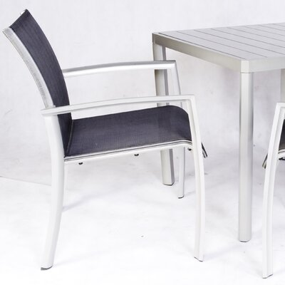 Les Jardins Out of Blue Elysun Stacking Dining Arm Chair