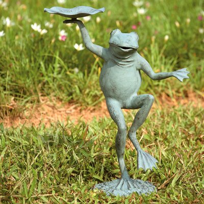 SPI Home Dancing Frog Bird Feeder