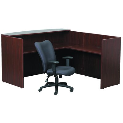 "Boss Office Products Reception 29"" H x 42"" W Desk Return"