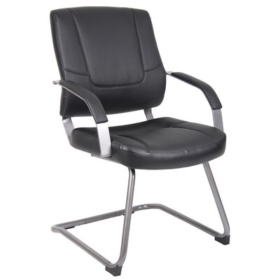 Boss Office Products Guest Chair with Metal Arms