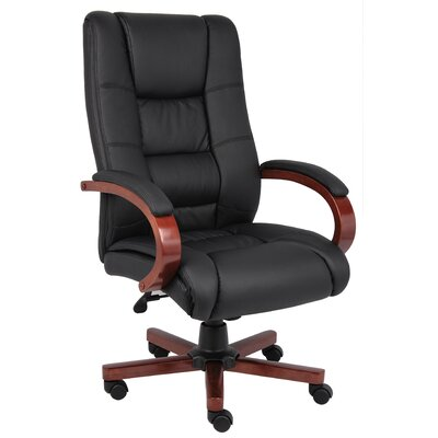 Boss Office Products Hi Back Executive Chair