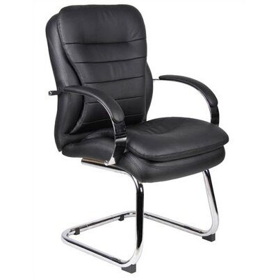 Boss Office Products Guest Chair with Soft Arms