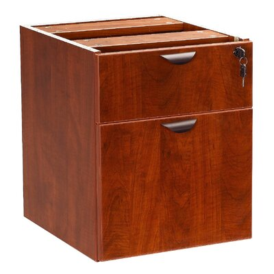 "Boss Office Products Case Goods 19"" H x 16"" W Desk Pedestal"
