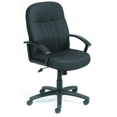 Boss Office Products Mid-Back Fabric Executive Chair