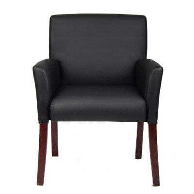 Boss Office Products Caressoft Guest Box Arm Chair