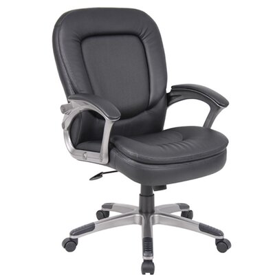 Boss Office Products Office Chair with Padded Armrests