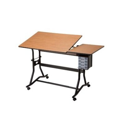 Alvin and Co. Craftmaster III Split Wood Drafting Table