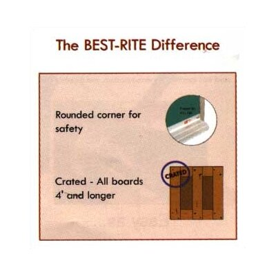 Best-Rite® Mark-Rite Boards - Wood Trim 4' x 6'