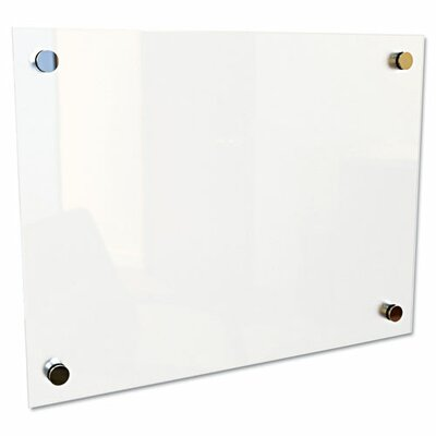 Best-Rite® Enlighten Frameless Glass Board