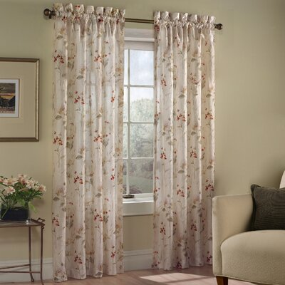 United Curtain Co. Chantelle Panel in Natural