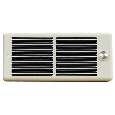 TPI Register Style Double - Pole 240v Fan Forced Wall Heater w/ Wall Box
