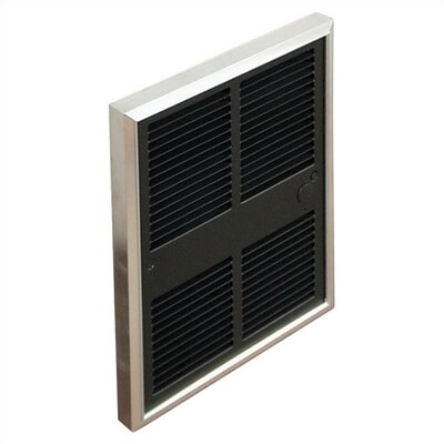 TPI Commercial Double - Pole 7,680 BTU ( 208v ) Fan Forced Wall Heater w/ Selectable Wattages