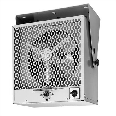 TPI Fan Forced Ceiling Phase 1 Mount Electric Space Heater with Thermostat