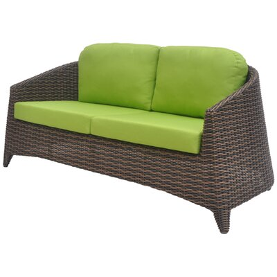 David Francis Furniture Rio Loveseat with Cushions