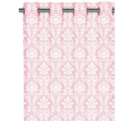 Home Decor Inc. Grommet Voile Damask Cotton Curtain