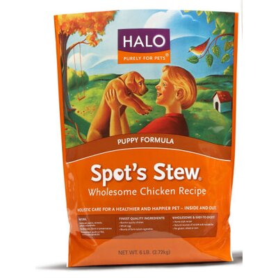 Halo Pets Spot's Stew Wholesome Chicken Dry Dog Food