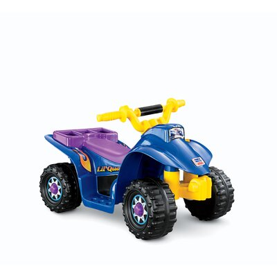 Fisher-Price Power Wheels Lil Quad Electric Ride-On