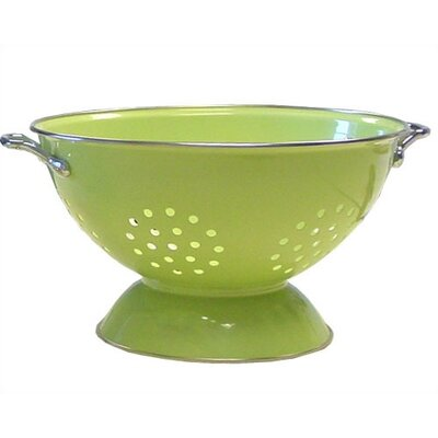 Reston Lloyd Calypso Basics 3 Quart Colander in Lime with optional Accessories