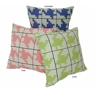 American Mills Houndstooth Pillow (Set of 2)