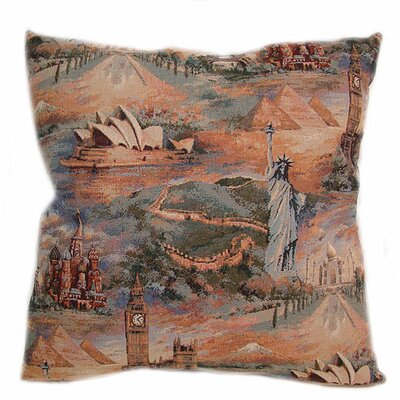 American Mills Wonderful World Pillow (Set of 2)