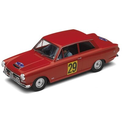 Ford Lotus Cortina Car in Red