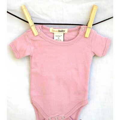 L'ovedbaby Short-Sleeve Bodysuit