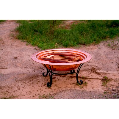 Unique Arts Copper Fire Pit Set