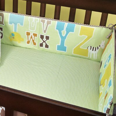 beansprout ABC 123 Cotton Crib Bumper