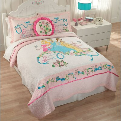 Disney Bedding Disney Garden of Beauty Full / Queen Quilt