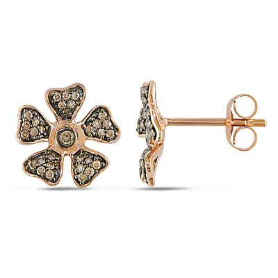 Diamond Ear Pin Earrings