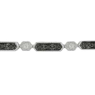 Amour Round Cut  Diamond Bracelet