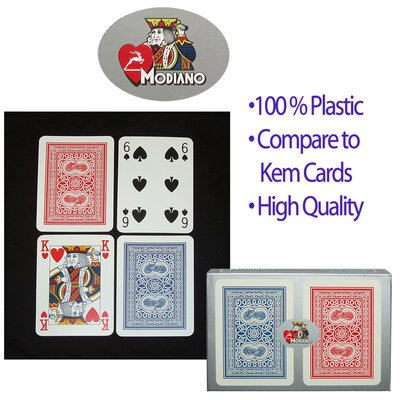 Copag Cards Modiano Poker Size Reg Index Setup