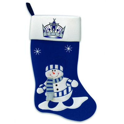 SC Sports NHL Snowman Felt Stocking