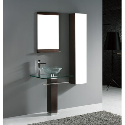 Madeli Rimini 29&quot; Bathroom Vanity Set in Walnut