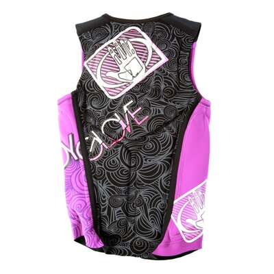 Vapor Women's NEO PFD in Purple/Black with Pink Highlights
