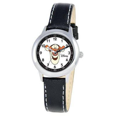 Disney Kid's Tigger Time Teacher Watch in Black