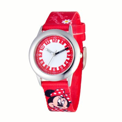 Disney Girl's Minnie Mouse Time Teacher Watch