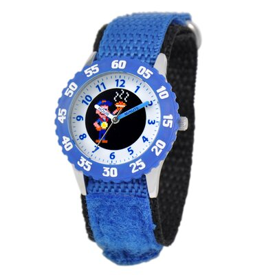 Disney Boy's Wreck-It Ralph Time Teacher Watch